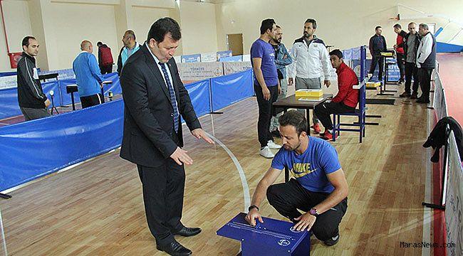 Sporcu yetenek taraması Elbistan'da devam ediyor