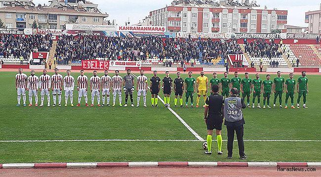 Kahramanmaraşspor Sivas'ı tek golle geçti