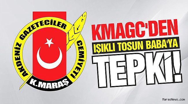 KMAGC'den Işıklı Tosun Baba'ya tepki!