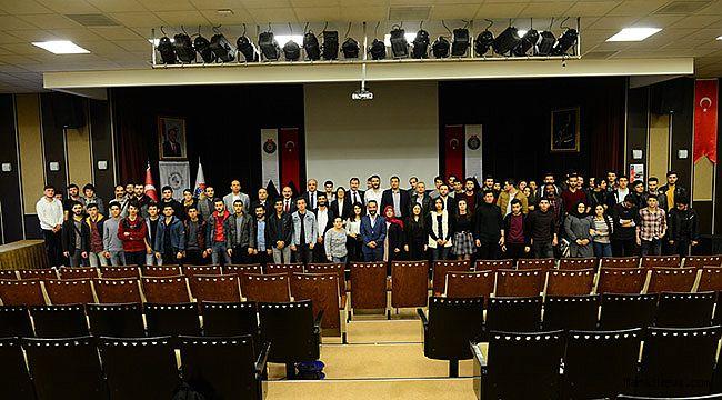 KSÜ'lü Genç Mühendis Adayları, EMO Tanışma toplantısında bir araya geldi