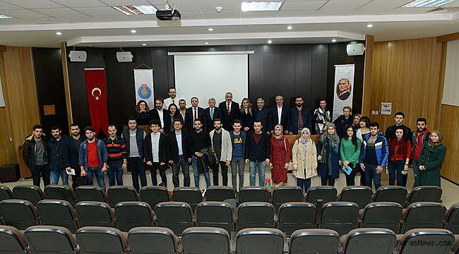 """KSÜ Orman Fakültesinde """"Üniversite-Sanayi Buluşması"""" Konulu Konferansı"""