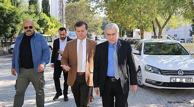 Rektör Prof. Dr. Can, Başkan Bozdağ'ı ziyaret etti