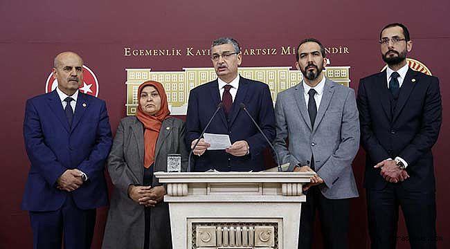 Ak Partili Vekillerden ortak basın açıklaması!