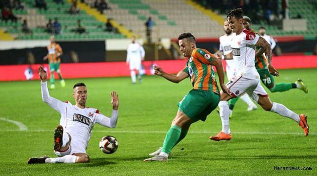 Alanyaspor Kahramanmaraş'ı dağıttı! 7-2