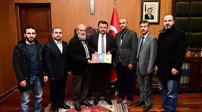 Başkan Erkoç'a Güzel Ahlâk Ziyareti