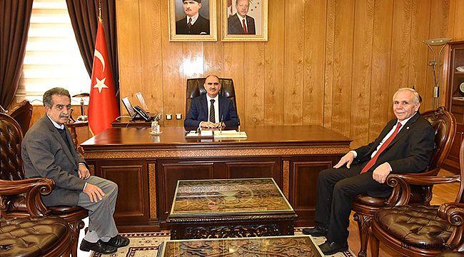 Emekliler Derneği'nden Vali Özkan'a Ziyaret