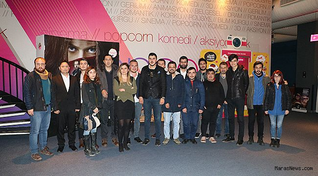"""Gazeteciler, """"Deliler: Fatih'in Fermanı"""" filmini izledi"""