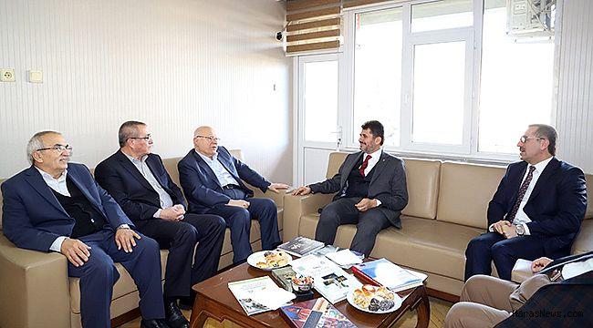 Hayrettin Güngör'den eski başkanlara ziyaret