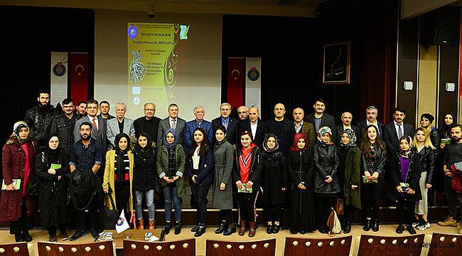 """KSÜ'de """"Gönüllerin Sultanı Hz. Mevlana"""" Konulu Konferans"""