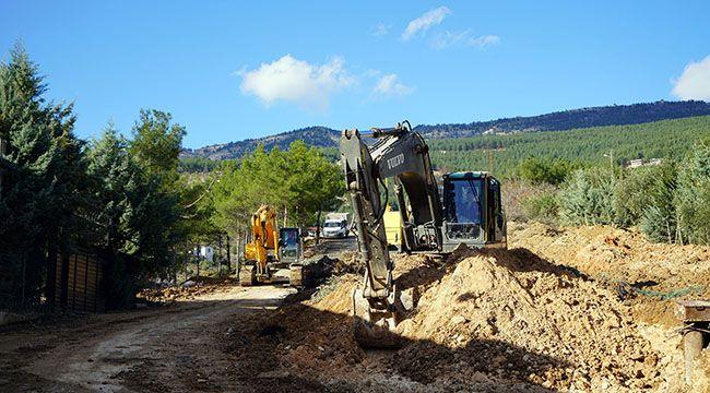 Kuzey çevre yolu 3.etap çalışmaları devam ediyor