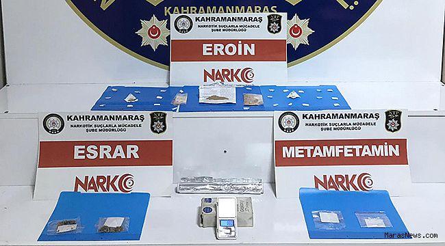 Narkotik'ten uyuşturucu operasyonu!