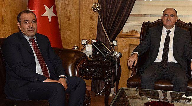 Prof. Dr. Faruk Bilir'den Vali Özkan'a ziyaret