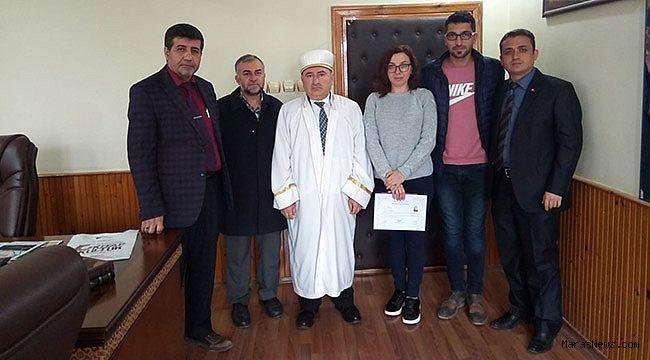 Ukrayna'lı Liudmyla Müslüman oldu