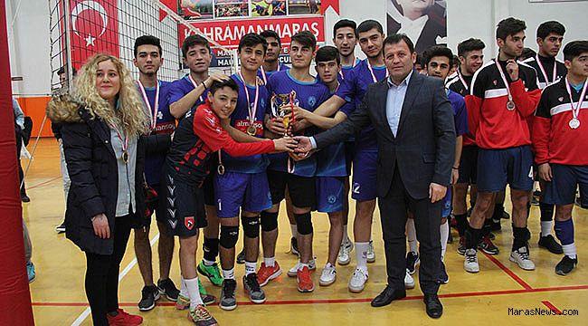 Voleybol Gençler İl Birinciliği turnuvası tamamlandı