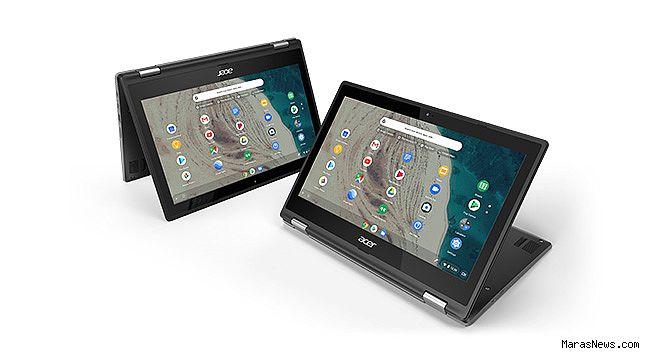 Acer, BETT 2019'da Yeni 11,6 inç Chromebook Modellerini Tanıttı