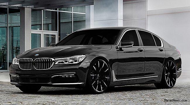 BMW'nin yeni 7 serisi büyüledi