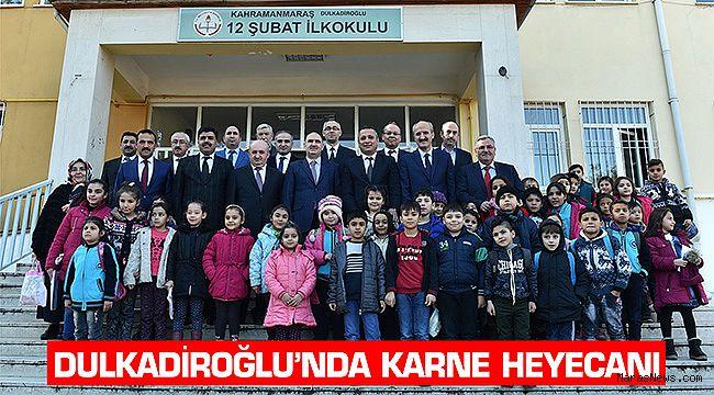 Dulkadiroğlu'nda Karne Heyecanı