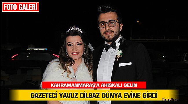 Gazeteci Yavuz Dilbaz dünya evine girdi