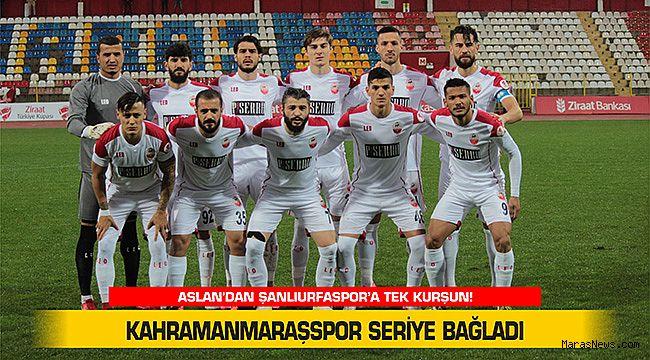 Kahramanmaraşspor seriye bağladı