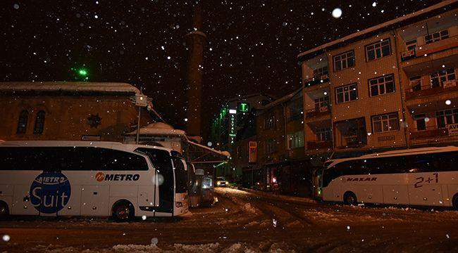 Mahsur kalan yolcuları Göksun Belediyesi misafir ediyor
