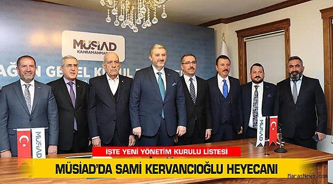 MÜSİAD'da Sami Kervancıoğlu heyecanı
