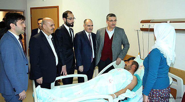 Necip Fazıl Şehir Hastanesi'nde GETAT ünitesi açıldı