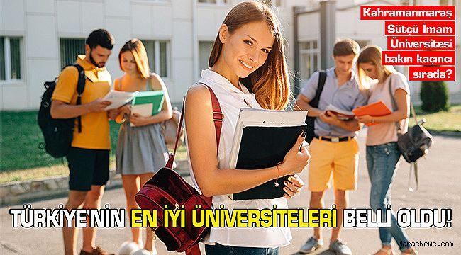 Türkiye'nin En İyi Üniversiteleri Belli Oldu!
