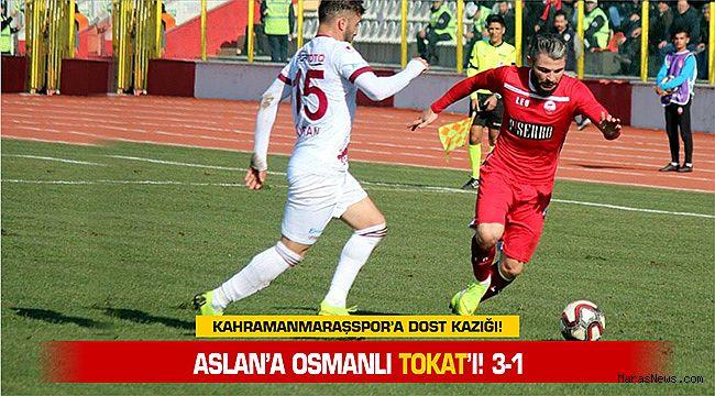 Aslan'a Osmanlı Tokat'ı! 3-1