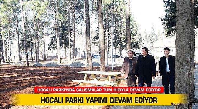 Hocalı Parkı yapımı devam ediyor