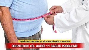 Obezitenin yol açtığı 11 sağlık problemi!