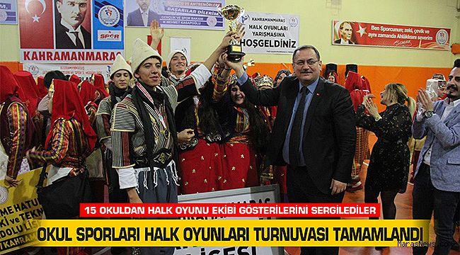 Okul Sporları Halk Oyunları Turnuvası tamamlandı