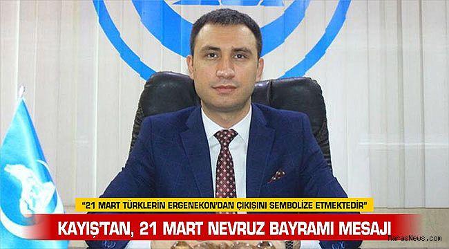 """""""21 Mart Türklerin Ergenekon'dan çıkışını sembolize etmektedir"""""""