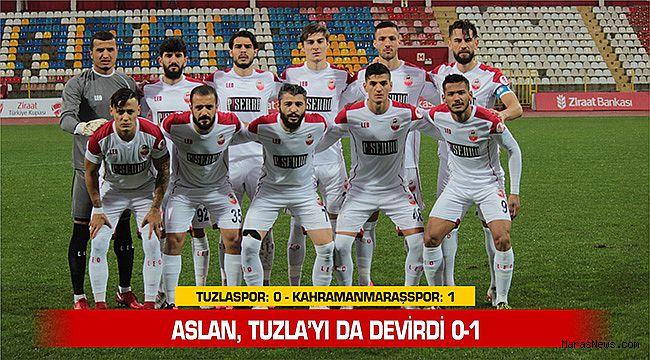 Aslan, Tuzla'yı da devirdi 0-1