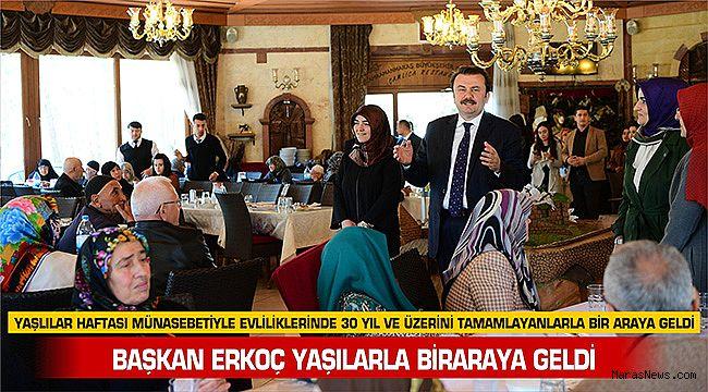 Başkan Erkoç yaşılarla biraraya geldi