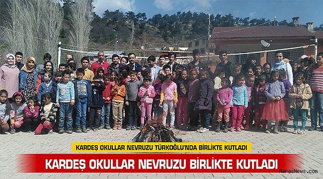 Kardeş Okullar Nevruzu Türkoğlu'nda birlikte kutladı