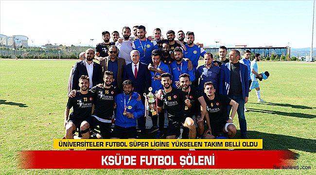 KSÜ'de Futbol Şöleni