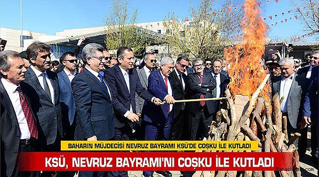 KSÜ, Nevruz Bayramı'nı coşku ile kutladı