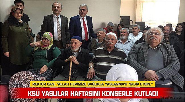 KSÜ Yaşlılar Haftasını Konserle Kutladı