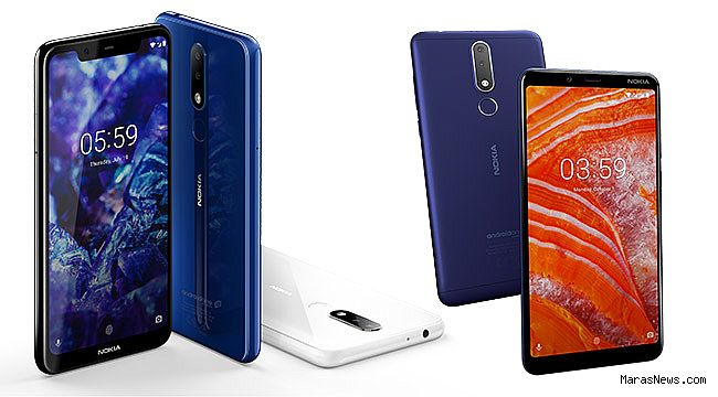 Nokia 5.1 Plus ve Nokia 3.1 Plus Turkcell ile Mart ayında Türkiye'de