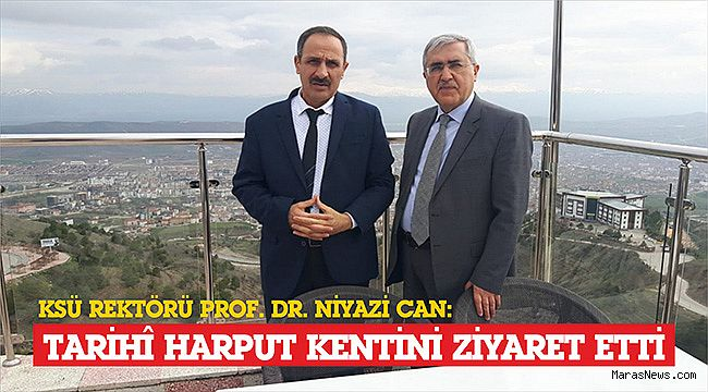 Rektör Prof. Dr. Niyazi Can, Tarihî Harput Kentini Ziyaret Etti