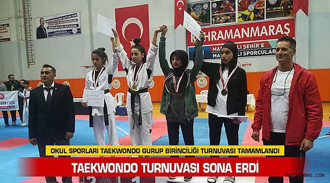 Taekwondo turnuvası sona erdi