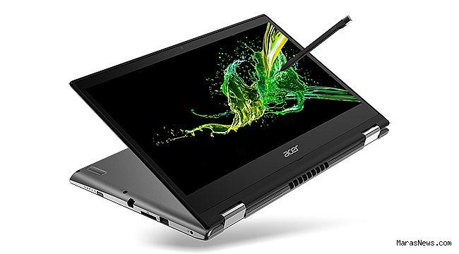 Acer, Spin 3 Dönüştürülebilir Şık Dizüstü Bilgisayar Serisini Yeniledi