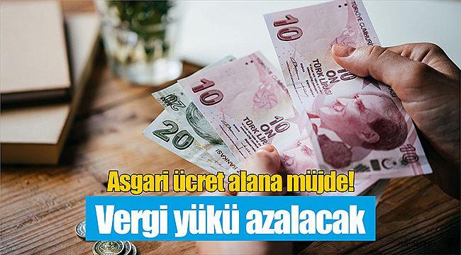 Asgari ücret alana müjde! Vergi yükü azalacak...