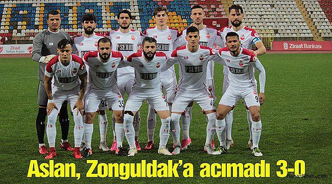 Aslan, Zonguldak'a acımadı 3-0
