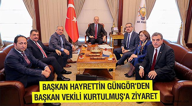 Başkan Hayrettin Güngör'den Başkan Vekili Kurtulmuş'a ziyaret