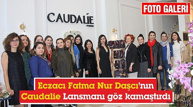 Eczacı Fatma Nur Daşcı'nın Caudalie Lansmanı göz kamaştırdı