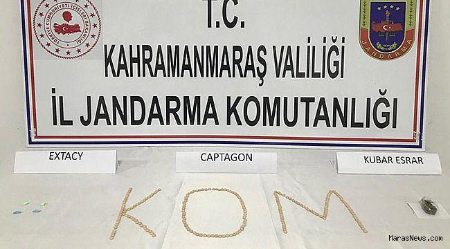 Kahramanmaraş'ta uyuşturucu operasyonu yapıldı!