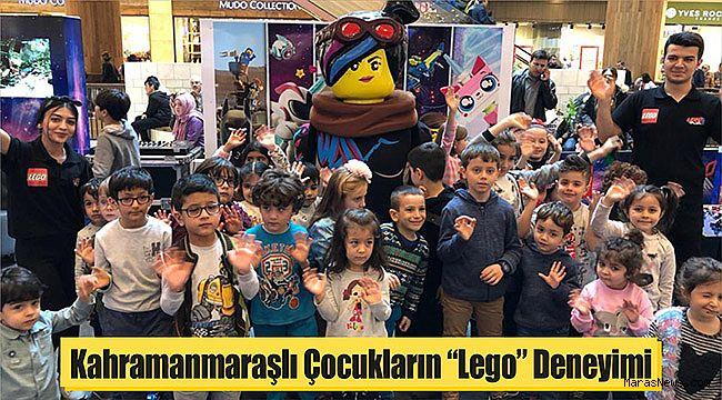 """Kahramanmaraşlı Çocukların """"Lego"""" Deneyimi"""