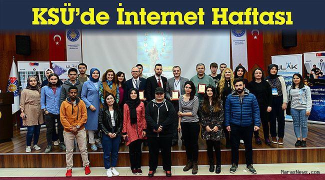 KSÜ'de İnternet Haftası