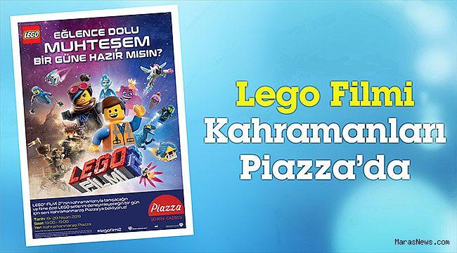 Lego Filmi Kahramanları Piazza'da